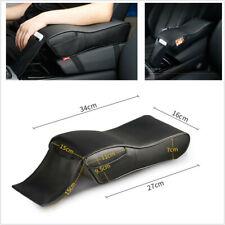 PU Leather Car Armrest Cushion Memory Foam Car Armrests Cover with Phone Pocket