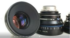 Zeiss CP2 4 lens Super Speed Set (21mm, 35mm, 50mm, 85mm) w/ EF and PL Mounts