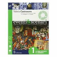 eventi & scenari vol.1 edizione verde, La Nuova Italia scuola, RCS 9788822180520