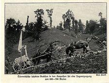1914 Kampf in Galizien-Karpathen * Österreichische fahrbare Backöfen *  WW1