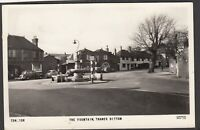 Postcard Thames Ditton in Surrey view of The Fountain posted 1965 RP