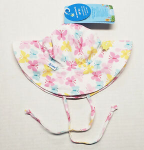 iPlay by green sprouts Baby & Toddler Butterflies Sun Protection Hat UPF 50+
