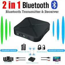 Wireless Bluetooth Transmitter&Receiver AUX RCA Adapter for Speaker PC TV Audio