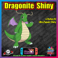 Shiny DRAGONITE | Crown of Tundra | 100% Legal | 6IV |  Pokemon Sword Shield