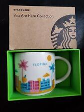 🔥☕ Starbucks FLORIDA You Are Here 14oz  Coffee Mug Cup YAH Collection 🌴🍊🚀☕🔥