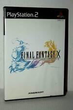 FINAL FANTASY X GIOCO USATO OTTIMO STATO SONY PS2 EDIZIONE JAP NTSC/J MC5 48355
