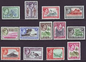 Solomon Islands 1939 SC 67-79 MH Set