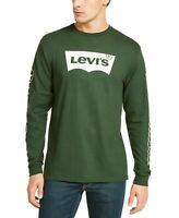 LEVI'S Men's Tundra Logo Graphic T-Shirt, Forest Green, Large