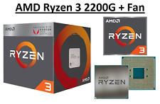AMD Ryzen 3 2200G Quad Core ''Raven Ridge'' 3.5-3.7 GHz, AM4, 65W CPU Sealed Box