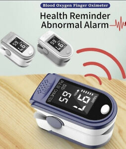 New Finger Pulse Oximeter with LED Display Corona 🦠🧪🆕☑️✅