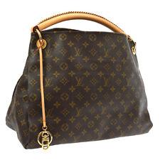 AUTHENTIC LOUIS VUITTON ARTSY MM HAND BAG PURSE MONOGRAM AR0120 M40249 JT07508