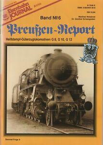 Eisenbahn Journal Archiv Band 6 Preußen-Report Güterzuglokomotiven G8 G10 XX 6