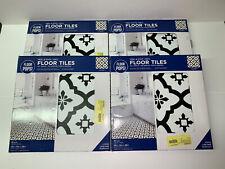 """(40) Floor Pops! FP2480 Comet Peel & Stick Vinyl Tiles 12"""" X 12"""" 40 Sq Ft Total"""