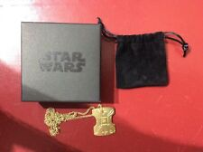 More details for star wars japor snippet necklace collectable replica