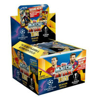 2019 2020 Match Attax 101 UEFA Champions Soccer Trading Cards Box of 50 Packs