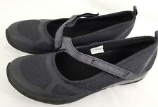 9 Merrell Ceylon Walking Shoes Mary Jane Black Flats