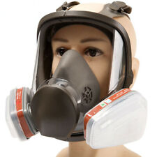 15 In 1 6800 Full Face Gas Mask Facepiece Respirator For Painting Spraying New
