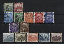 Deutsches Reich 463-464, 467-473 und 474-476 gestempelt (B05964)