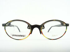 Round/ Oval Frame Black Brown Frameless Spectacles Extraordinary Design Size M