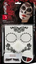 Miss Dia de los Muertos Make Up Set NEU - Styling Schminke Karneval Fasching