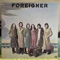 Foreigner ~1977 Self Titled LP Record Atlantic Records SD 18215 /Free Shipping