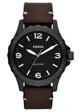 Runde Fossil Quarz - (Batterie) Armbanduhren für Herren