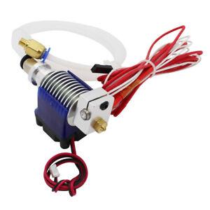 Metall V6 Hotend 1,75 mm / 0,4 mm Düse Bowden Extruder Reprap 3D-Drucker