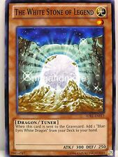 Yu-Gi-Oh - 1x The White Stone of Legend - SDBE - Saga of Blue Eyes White Dragon