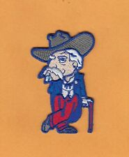OLE MISS COLONEL REB FULL STITCHED 3 INCH PATCH IRON ON UNSOLD STOCK REBELS