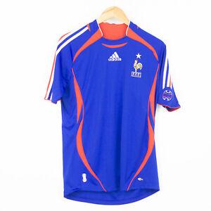 FRANCE FFF adidas SHIRT 2006 Trikot Maroc Maillot Domicile Jersey S