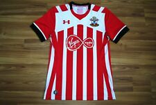 SIZE M SOUTHAMPTON ENGLAND HOME FOOTBALL SHIRT 2016-2017 JERSEY UNDER ARMOUR