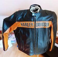 Harley davidson lederjacke xxl