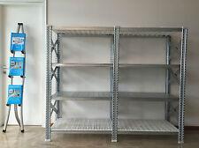 Scaffale metallo rinforzato livelli misti 1890x510x1576 mm