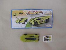 HotWheels, Auto gelb TR125+BPZ.