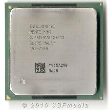 CPU Processore Intel Pentium 4 P4 2.66/512/533 - SL6PE - 478 pentium4