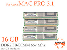  Kit Mémoire 16 GB (4x 4GB) DDR2  667MHz - FBDIMM pour Mac Pro 3.1 Early 2008