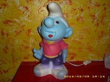 Schlumpf  / Figur Leuchte - Kinderlampe - Lampe - Peyo  - RAR