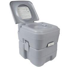 Chimique Portable Toilette Chimique pour Camping Caravane 20L avec Réservoir