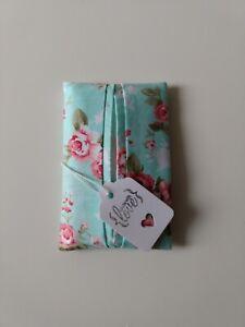 Pocket/ Travel Tissue Holder Handmade In Designer Fabric. Lovely Gift. New