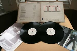 GARY NUMAN-Exhibition-UK '87 BEGGARS BANQUET (BEGA 88) Original 2LP +booklet EX!
