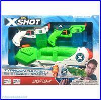 ZURU X Shot Promo Pack Water Blaster Toys Typhoon Thunder & 2 x Stealth Soakers