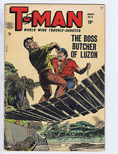 T-Man #10 Quality 1953