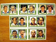 EDICIONES ESTE LIGA 84/85 - LOTE DE 7 CROMOS DISTINTOS ENTRENADORES