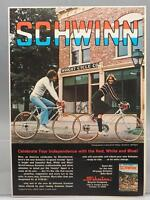 Vintage Magazine Ad Print Design Advertising Schwinn Bicycles