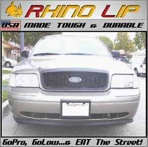 Lincoln LS Mercury Continental Ford Front Rubber Splitter Chin Lip Spoiler Trim