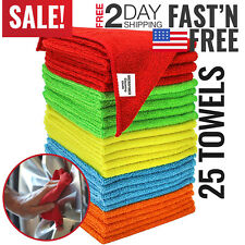 Microfiber Towels Microfiber Cleaning Cloth For Cars Kitchen Hands Rags Bulk