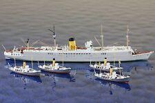 Südmeer + Süd I   Hersteller Mercator 588+588a ,1:1250 Schiffsmodell