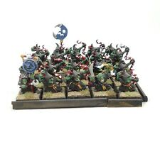 Warhammer Fantasy Age of Sigmar Army Orcs and Goblins Night Goblins x20 Painted