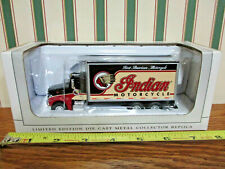 Indian Motorcycle Peterbilt 385 Van Box Truck By SpecCast 1/64th Scale