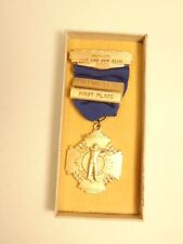 1956 New Oxford, PA Nu-Ox Rod & Gun Club 1st place Bobbing Bear award medal